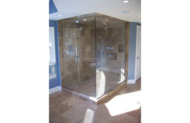 frameless walk-in shower doors