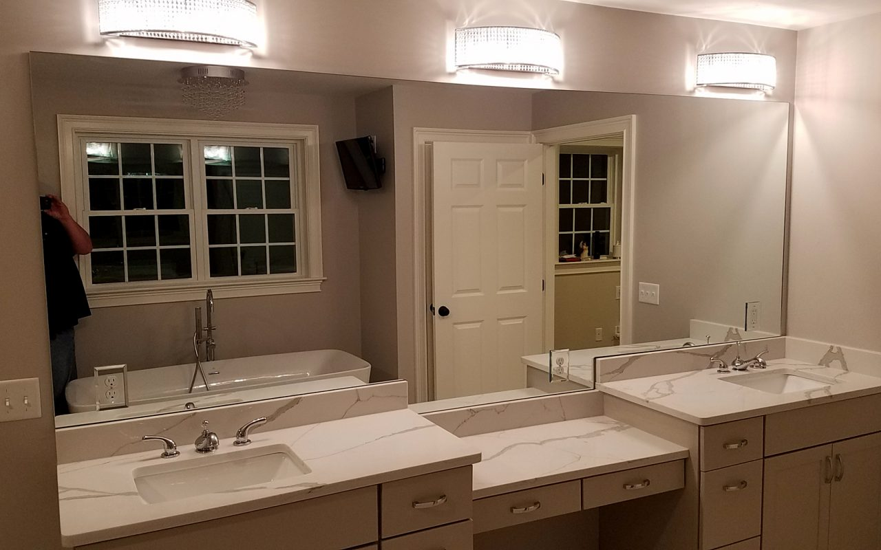 Large Vanity Mirror in East Bridgewater