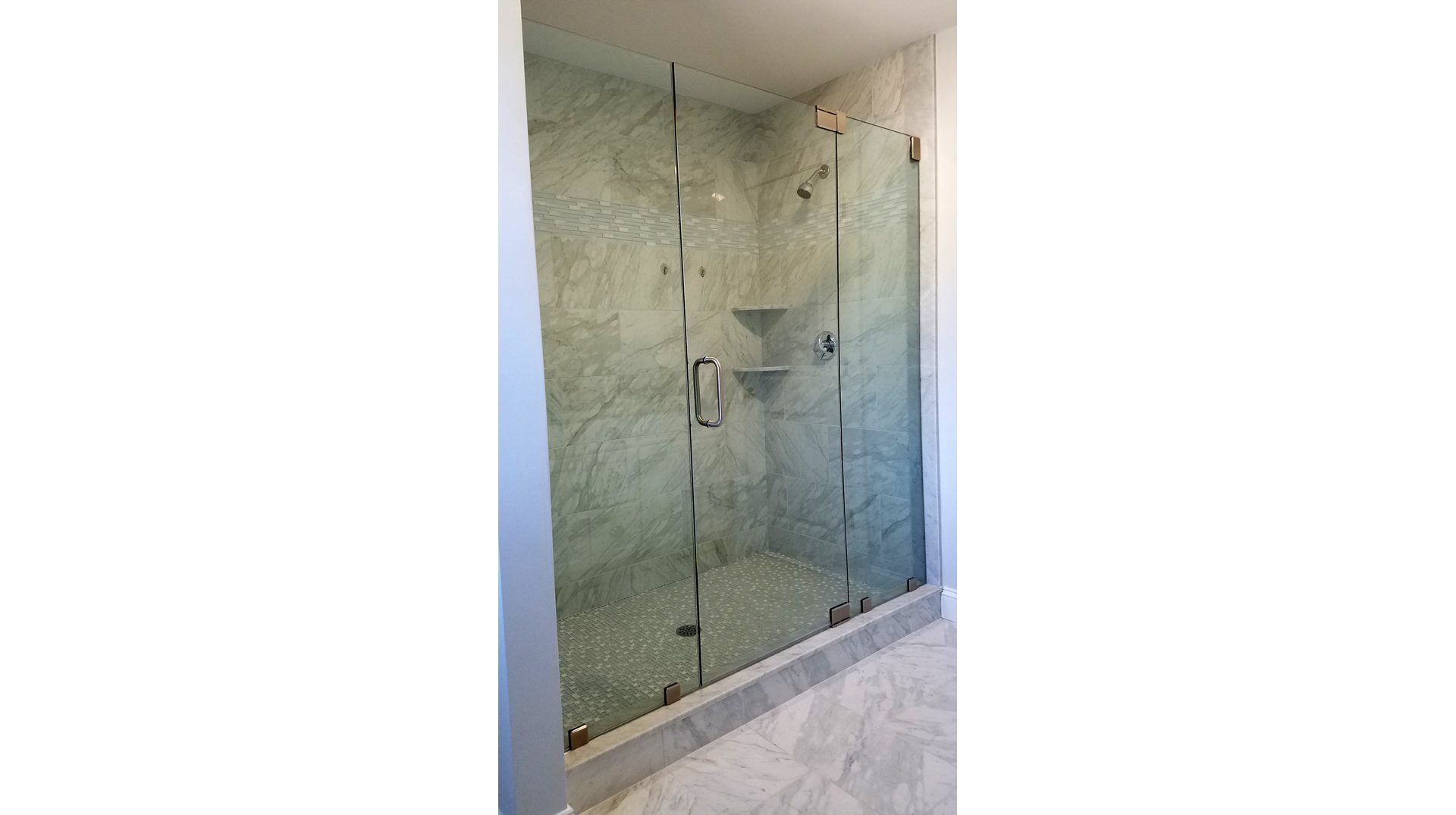Frameless Glass Shower Door In Bridgewater Signature Glass