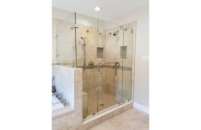 Frameless Shower Enclosure in Dartmouth MA