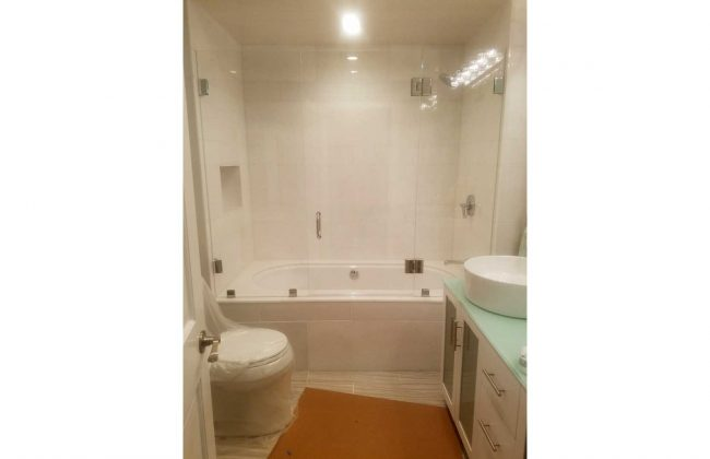 Frameless Shower Enclosure in Fall River MA