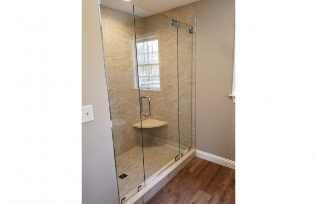 Frameless Shower Enclosure in Bridgewater MA