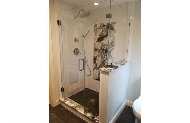 Frameless Shower Enclosure in Plymouth MA