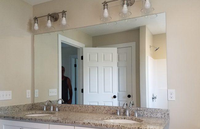 Full-Width Vanity Mirror