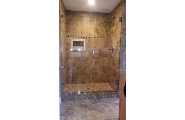 Frameless Shower Door in Taunton
