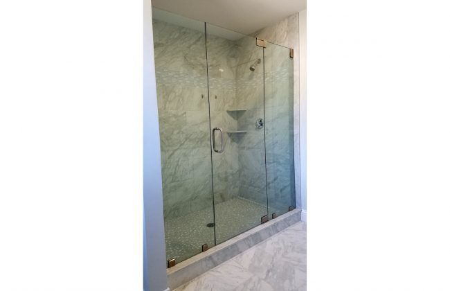 Frameless Glass Shower Door in Bridgewater