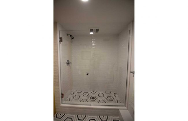 Frameless Glass Shower Enclosure in Sagamore Beach MA