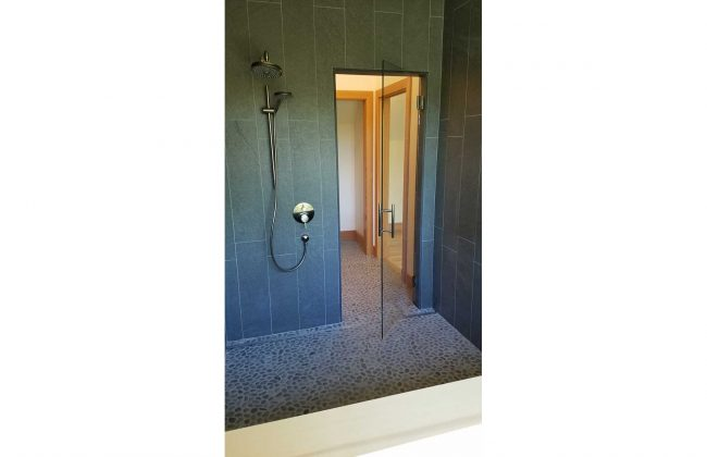 Frameless Shower Door in East Falmouth
