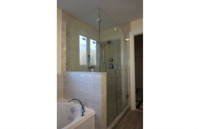 frameless shower enclosure in Berkley MA
