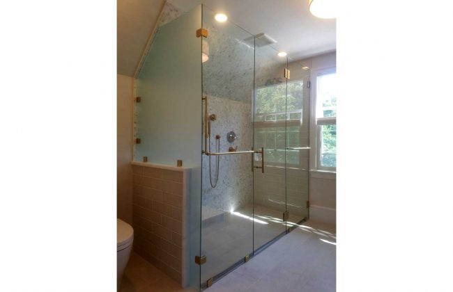 Frameless Shower Enclosure Plymouth MA