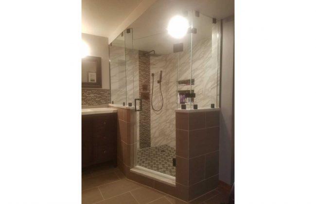 Frameless Shower Door in Fall River MA