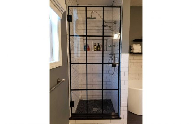 Ceramic In-Glass Shower Door