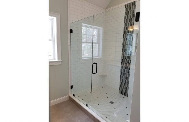 Frameless Glass Shower Door in Foxboro MA