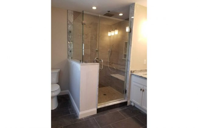 Frameless Shower Enclosure Bridgewater MA