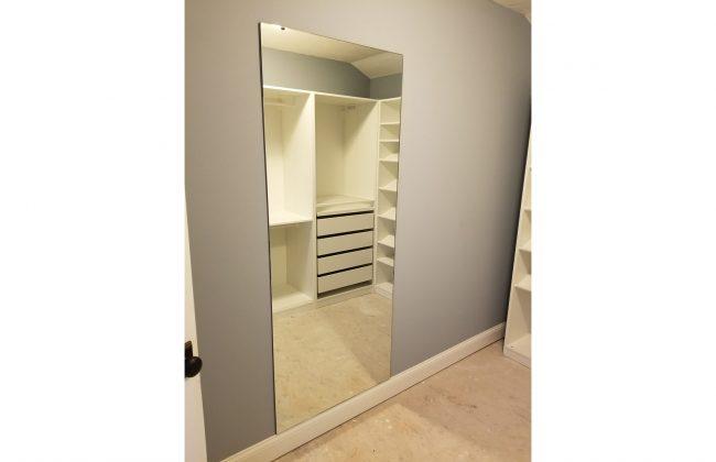 Full Length Mirror in Master Closet