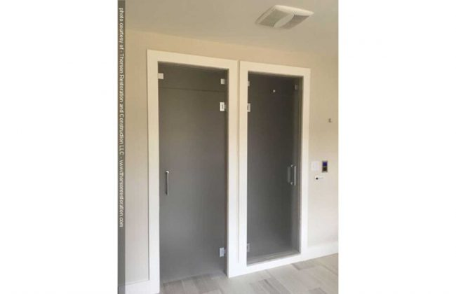Steam Shower & Water Closet Doors in Duxbury MA