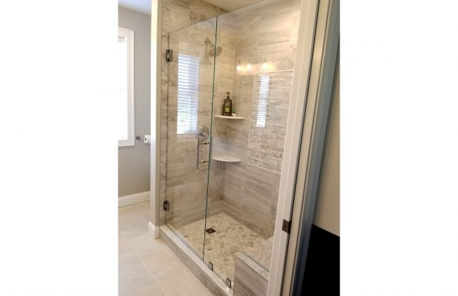 Frameless shower enclosure in Assonet MA