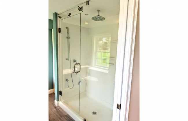 Frameless Shower Enclosure in North Dighton MA