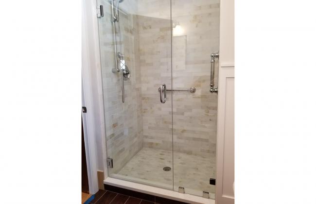 Frameless Shower Enclosure in New Bedford