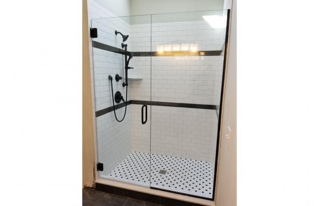 Frameless Shower Enclosure in Norfolk MA