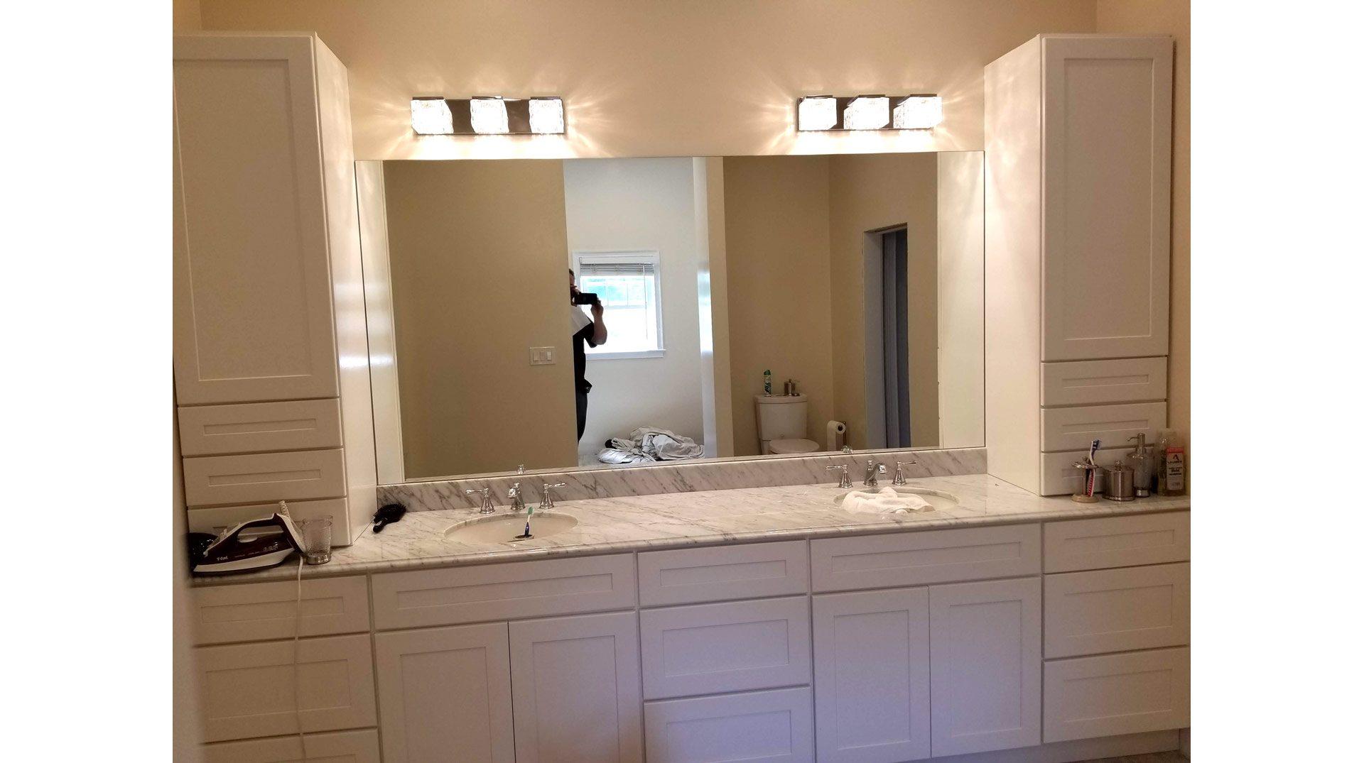 Double Vanity Mirror in Halifax MA