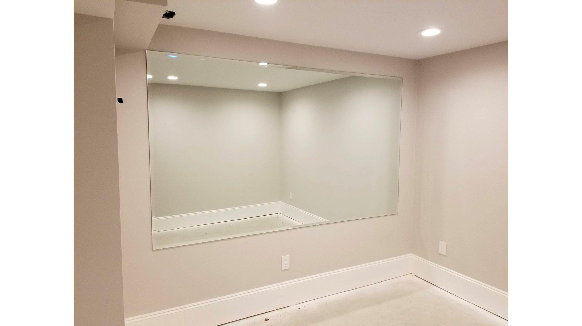 Fitness Room Mirror