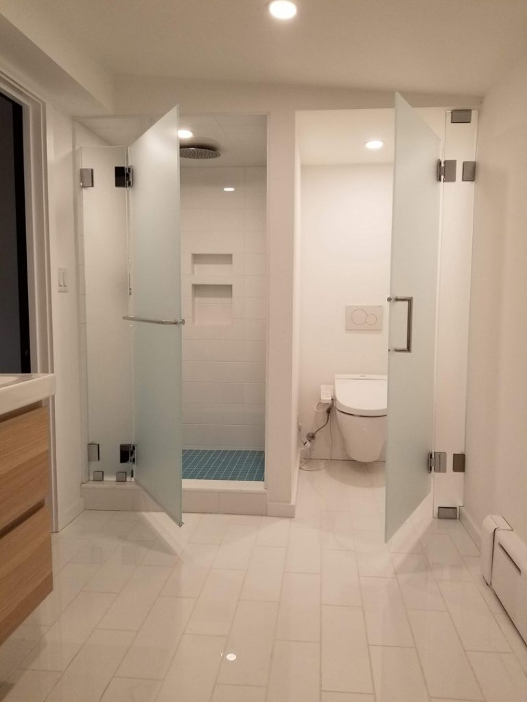 Doors for Shower and Water Closet